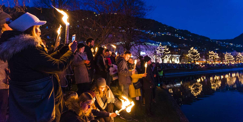 Julebyen Bergen på 72 timer - Lysfesten