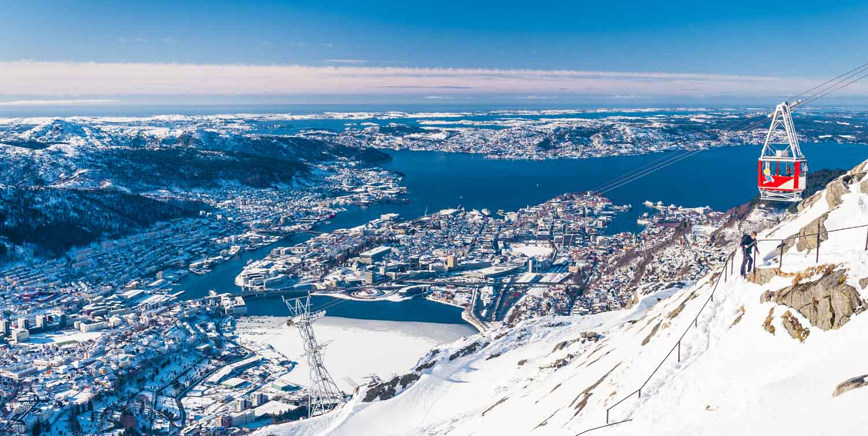 72 timer i Julebyen Bergen - Ulriken