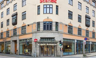 Scandic Byparken - Right in the center of Bergen
