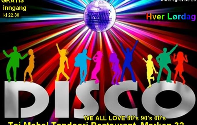 Disco party , WE ALL LOVE 80's 90's 00's